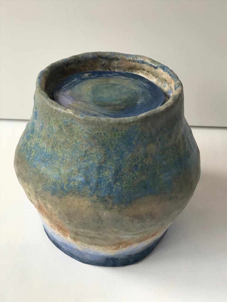 Zelfgebakken urn